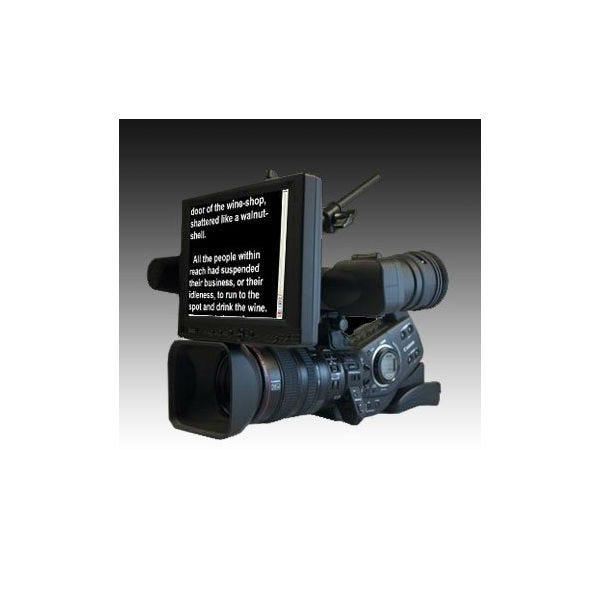 """Ikan 8"""" 4:3 Portable Teleprompter Kit (Over Lens)"""