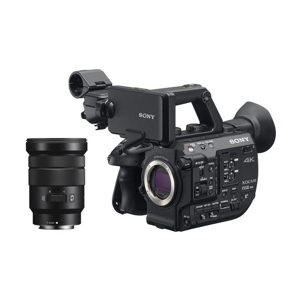Sony PXW-FS5M2 4K XDCAM Super 35mm Compact Camcorder w/ 18-105mm Zoom Lens