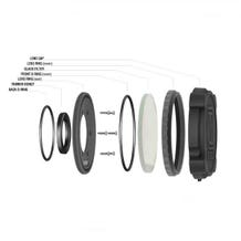 Unruly R Lens Ring (Round)