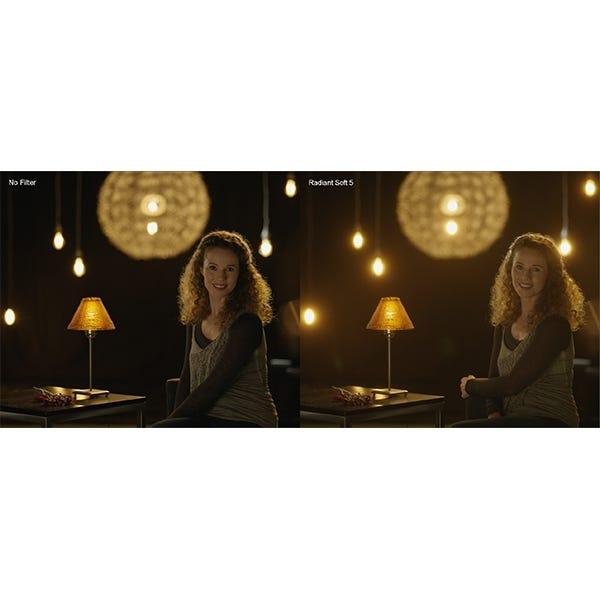 """Schneider Optics 4 x 5.65"""" Radiant Soft 5 Filter"""