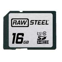 HoodMan RAWSDHC16GBU1 STEEL UHS-1 SDHC Memory Card 16GB