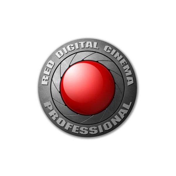 "RED 10"" Logo Sticker"