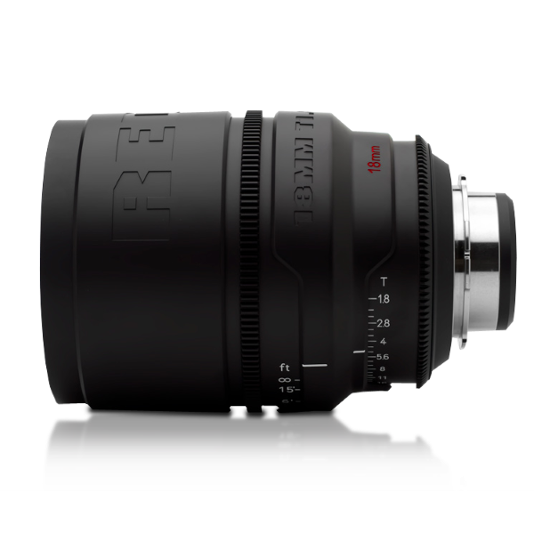 RED PRO PRIMES 18mm Lens (Battle-Tested)