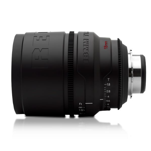 RED PRO PRIMES 18mm Lens (Battle-Tested)