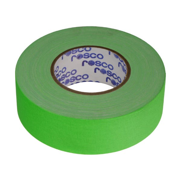 "Rosco GaffTac 2"" Fluorescent Green Keying Tape"
