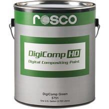Rosco DigiComp HD Digital Compositing Paint (Green, 5 Gallons)