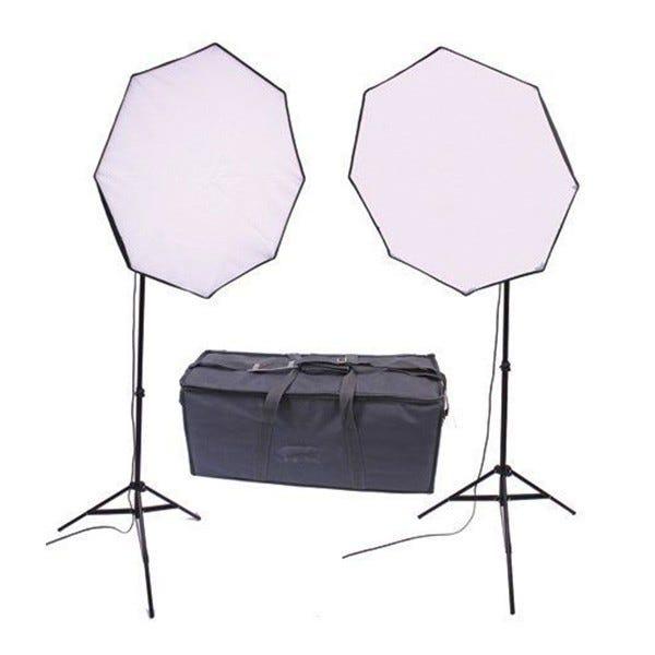 RPS Studio RS-4080 280W Dual Octagonal Softbox Kit