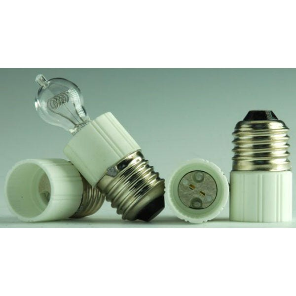 RPS Studio E-27 base to 2 pin Quartz Lamp Adapter