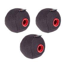 Rycote Baseball 19/20mm Windscreen - 3 Pack