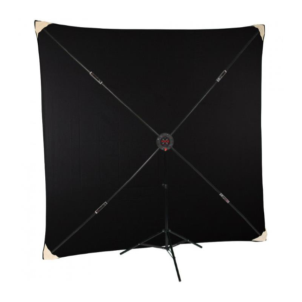 Studio Assets 8 x 8' Muslin Backdrop for PXB X-Frame Background System (Various Colors)