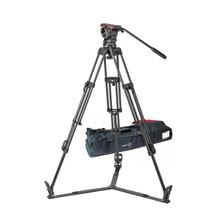 Sachtler 1042 Tripod System with FSB 10 Head, ENG 2 CF Tripod, Ground Spreader SP 100, and Padded Bag ENG 2