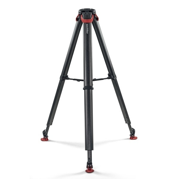 Sachtler flowtech 75 2-Stage Carbon Fiber Tripod with Mid-Level Spreader