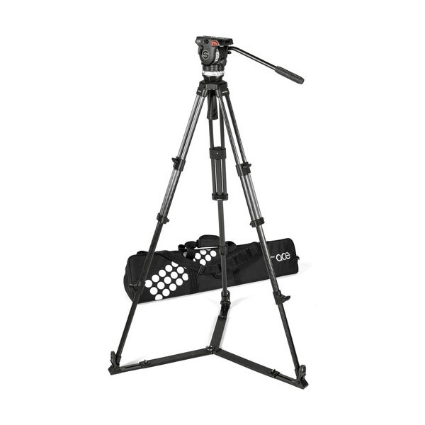 Sachtler Ace XL Carbon Fiber Tripod System with Ground Spreader