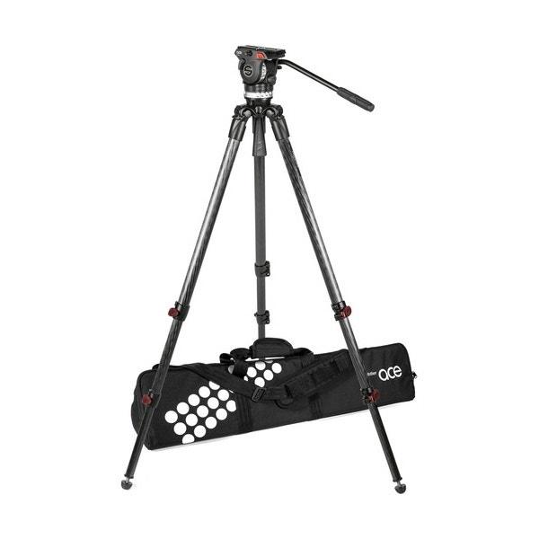 Sachtler Ace XL Fluid Head with Telescoping Tripod Legs (75mm Bowl)