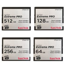 SanDisk Extreme PRO CFast 2.0 Memory Card (Various Memory Capacities)