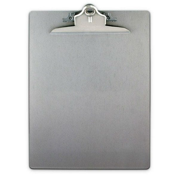 "Saunders Aluminum Clipboard 9"" x 13"""