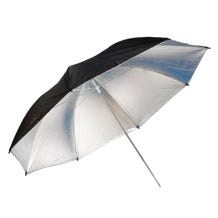 "Savage 43"" Umbrella, Black/White"