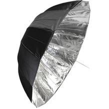 """Savage 65"""" Deep Black/Silver Umbrella"""