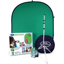 Savage Digital Photography Kit - Backdrop, Light Stand, Carrying Bag