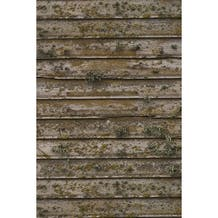 Savage Distressed Wood Wall Printed Vinyl Backdrop - 5x7ft