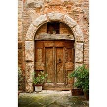 Savage Italian Arched Doorway Printed Vinyl Backdrop - 5x7ft