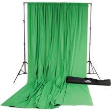 Savage Accent Muslin Background Kit (10 x 24', Chroma Green)