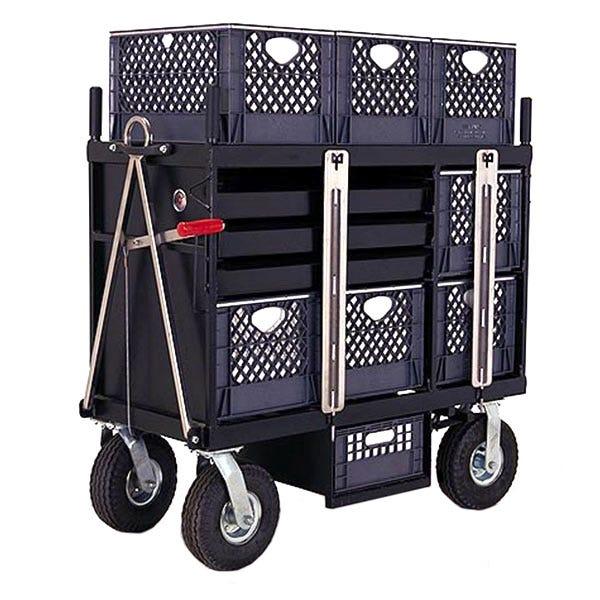 Backstage 4-Crate Horizontal Set Box Studio / Stage Cart
