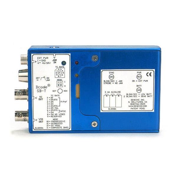 Denecke Time Code Generator / Reader and Tri-Level Sync Box w/ LEMO Connector