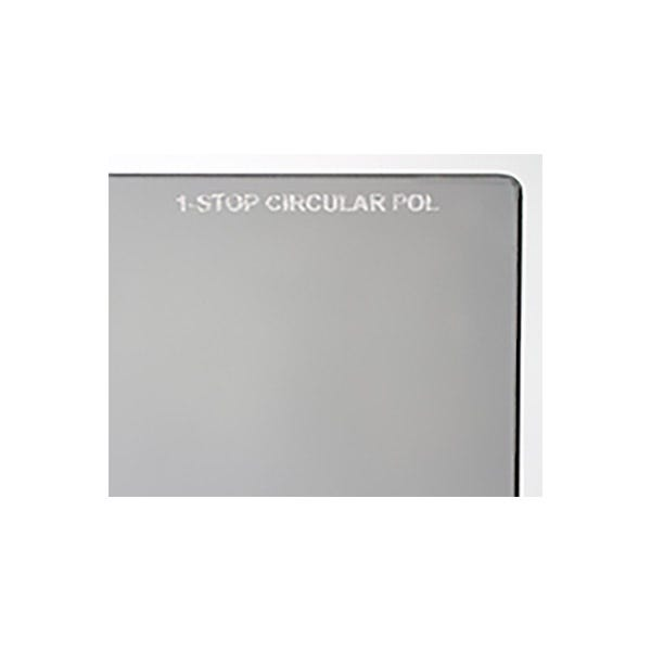 "Schneider Optics 6.6 x 6.6"" One Stop Circular Polarizer Square Filter"