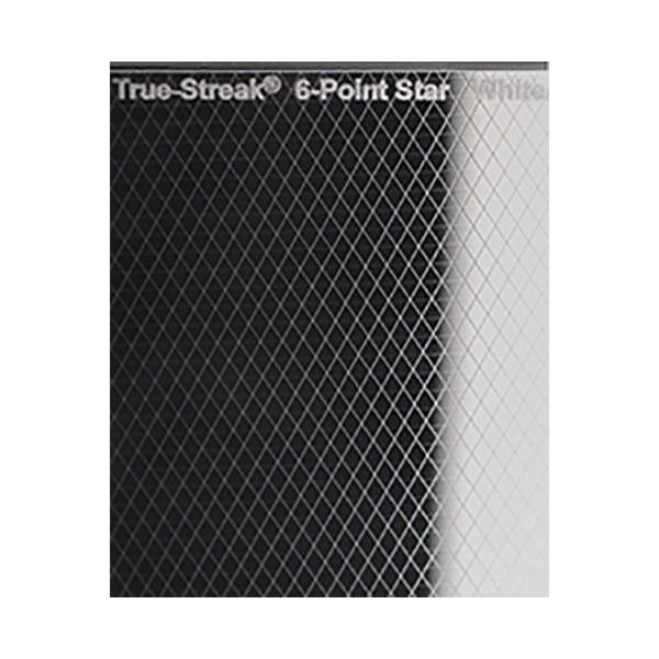 """Schneider Optics 4 x 5.65"""" True-Streak Star 6pt Clear"""