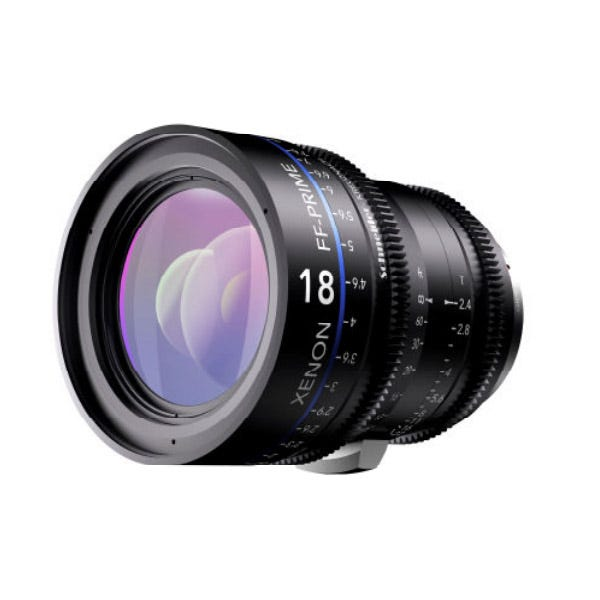 Schneider Optics Xenon FF Prime Lens T2.4/18MM