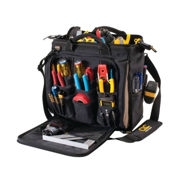 "CLC 13"" 30 Pockets Multi-Compartment Tool Carrier"