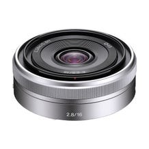 Sony E 16mm f/2.8 Lens (Silver)
