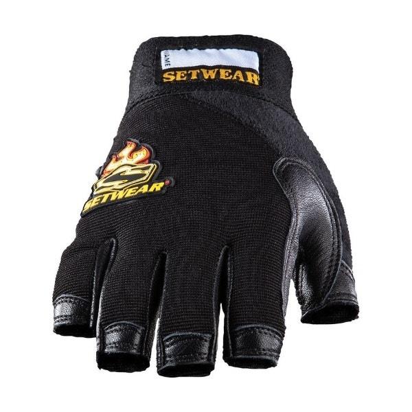 Setwear Leather Fingerless Gloves (XS - XXL)