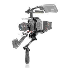 SHAPE Canon C500 Mark II baseplate with handle shoulder rig