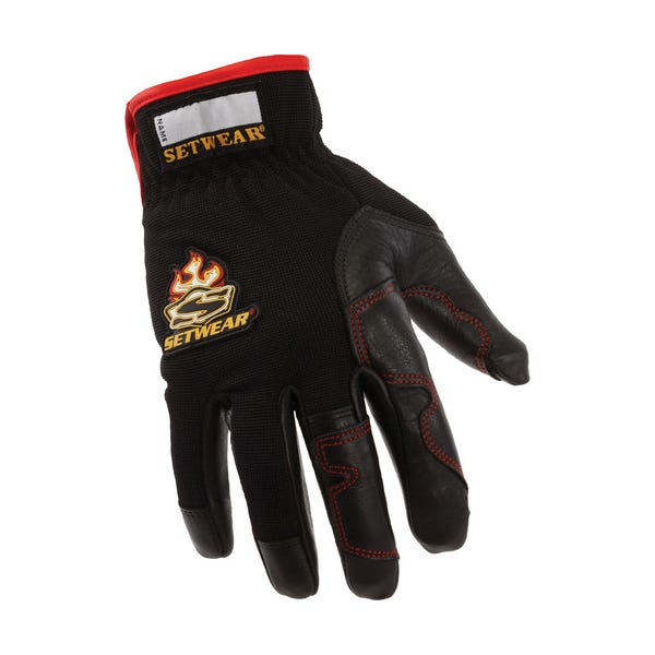 Setwear Black Hot Hands Gloves - Large