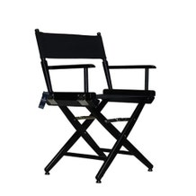 Custom Back Print - Film Craft Studio Short Director's Chair - Black