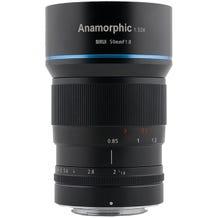 Sirui 50MM 1.8 Anamorphic Lens - Micro 4/3 Mount APS-C 1.33x Squeeze