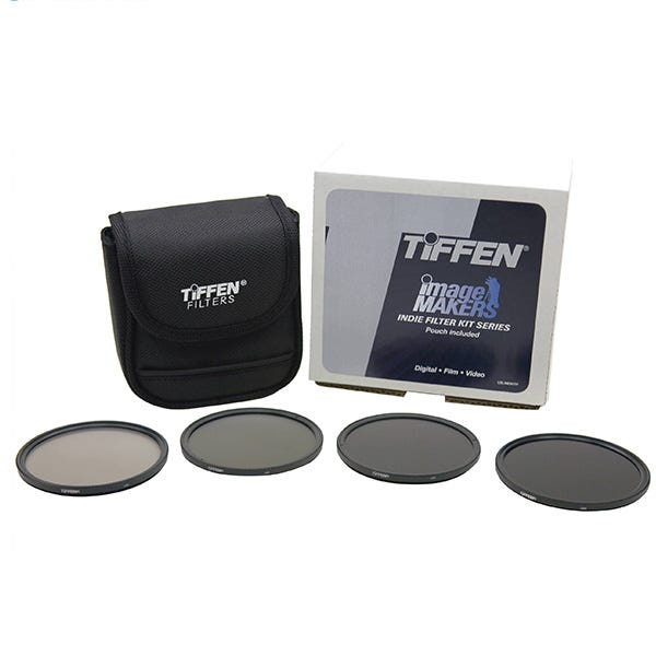 Tiffen 77mm Indie Standard IRND 0.3-1.2 Filter Kit