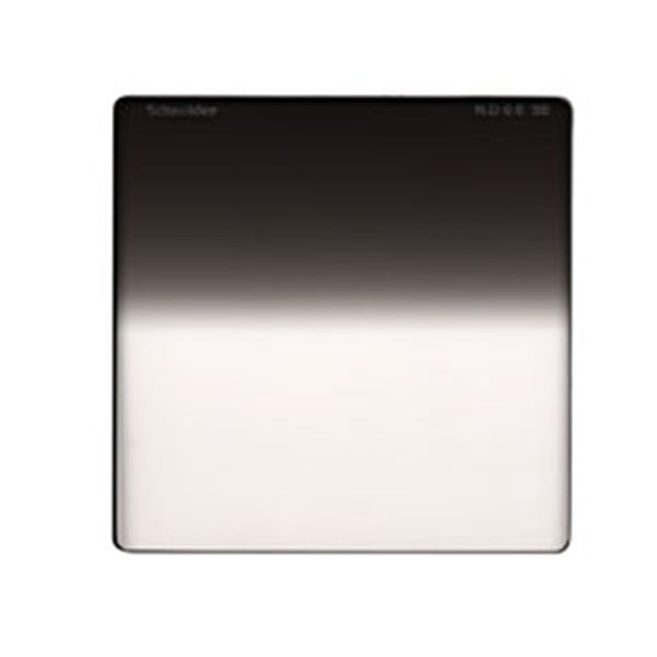 "Schneider Optics 4 x 4"" Graduated Neutral Density (ND) 0.6 Water-White Glass Filter - Soft Edge"