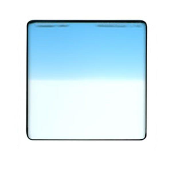 "Schneider Optics 4 x 4"" Graduated Paradise Blue 2 Water White Glass Filter - Hard Edge"