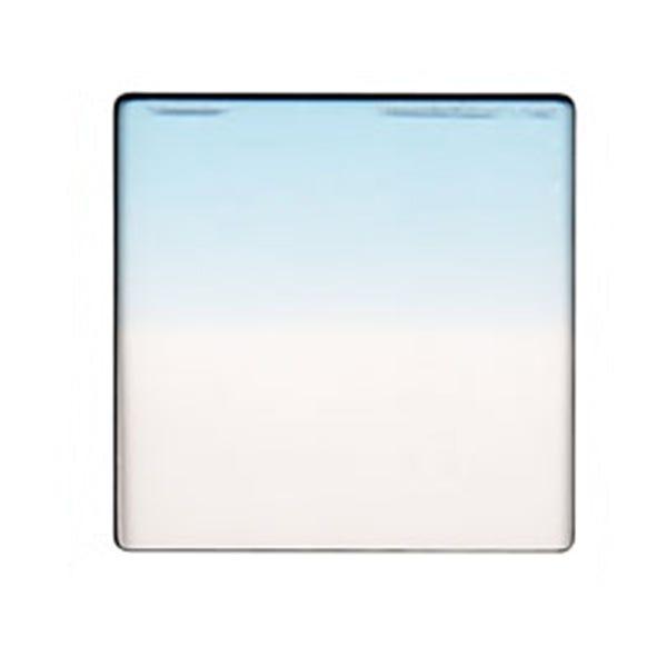 "Schneider Optics 4 x 4"" Graduated Paradise Blue 1 Water White Glass Filter - Hard Edge"