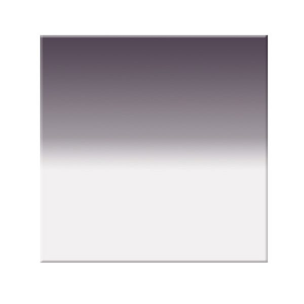 "Tiffen 6.6 x 6.6"" Soft Edge Graduated Neutral Density (ND) 0.6 Filter"