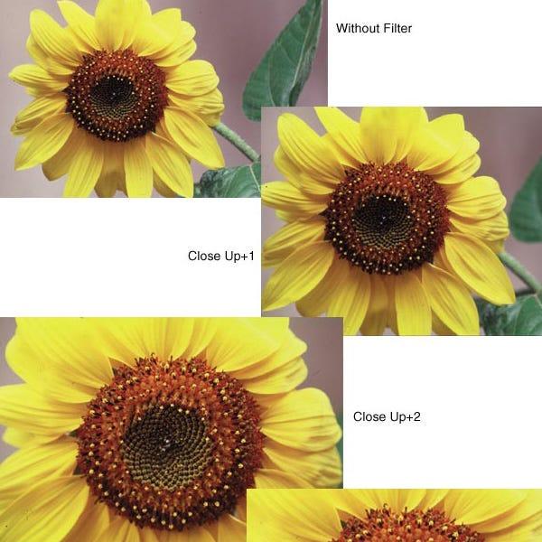 """Tiffen 4.5"""" Round Close-up +1/2 Lens"""