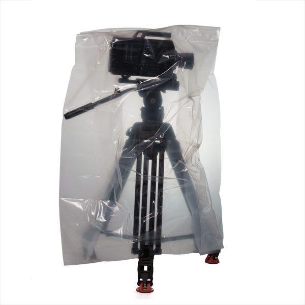 "Filmtools 26 x 24 x 48"" 3-Mil Visqueen Bags / Tarps / Rain Covers - Small, Clear"