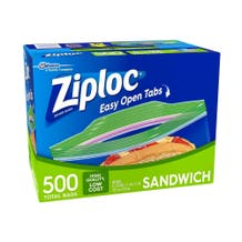 Ziploc Small Sandwich Bags - 500 Bags