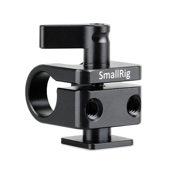 SmallRig 15mm Rod Clamp with Cold Shoe