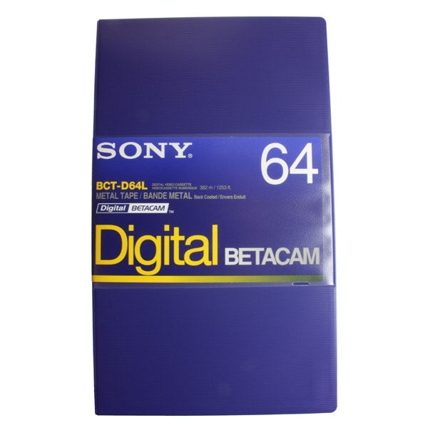 Sony Digital Betacam Format Tape 64min