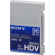Sony PDV96HD DVCAM for HDV High Definition Video Tape
