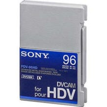 Sony PDV96HD DVCAM for HDV High Definition Video Tape